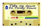 cassette funky town