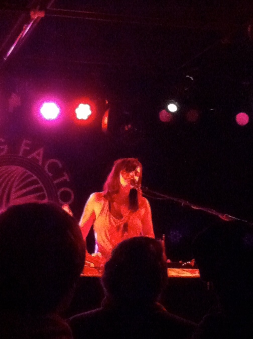 Emily Wells at Knitting Factory