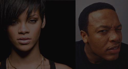 Rihanna and Dre