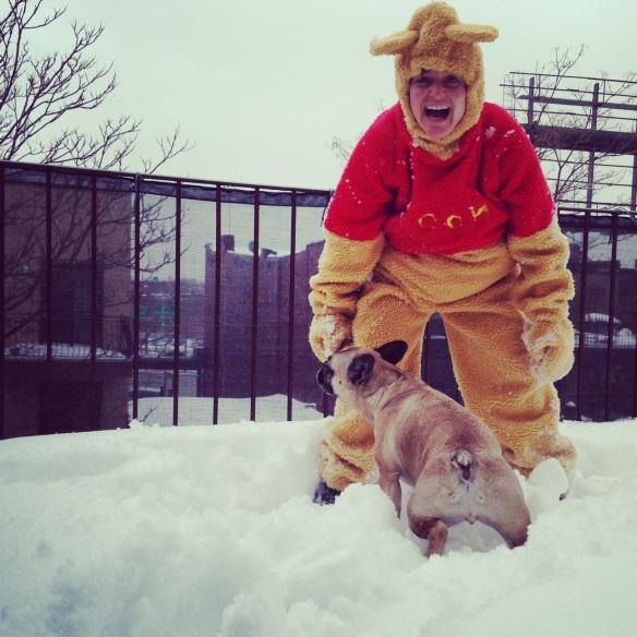 chubbyjones meets snowpoohcalypse